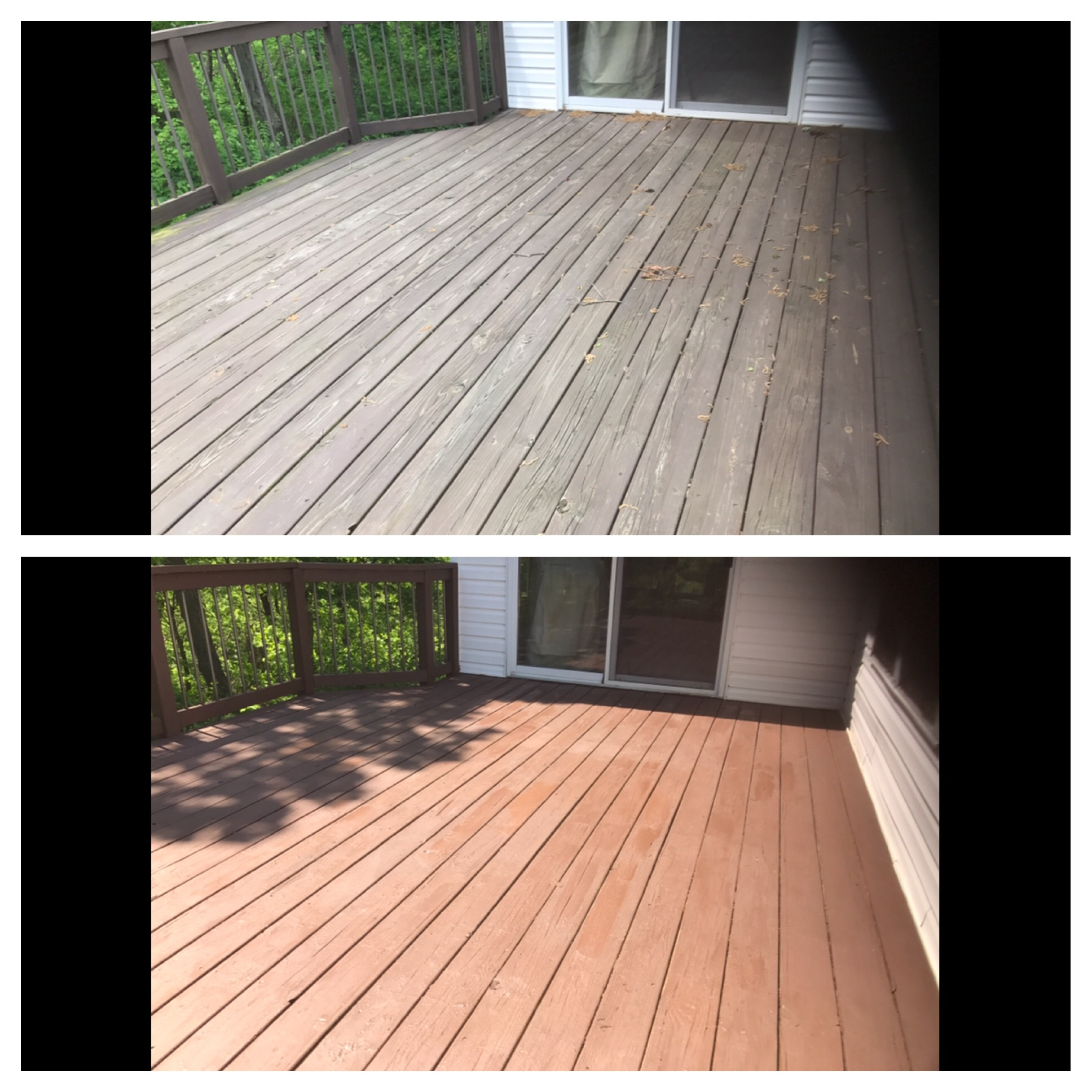 A dependable deck cleaning service in St. Charles County, MO